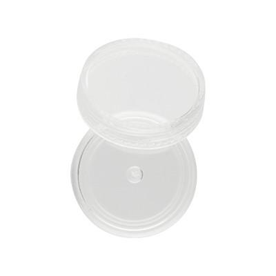 Perlendöschen aus klarem Plexiglas, 18x30mm