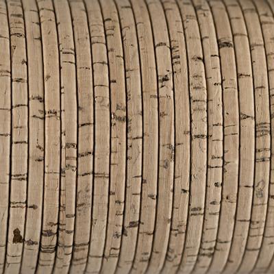 Flachriemen aus Kork, 100cm, ca. 3x2mm, NATUR