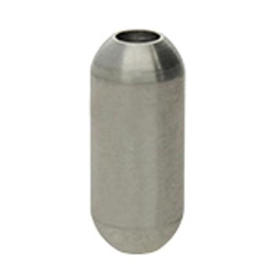 Magnetverschluss, 3mm, 16x7mm, Edelstahl, silberfarben, matt