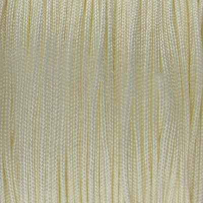 Shamballa Nylon Faden (Rolle) , 0,8mm, rund, ca.60 Meter, VANILLE