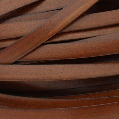 Flachriemen, Rindsleder, 100cm, ca. 10x1,5mm, BRAUN
