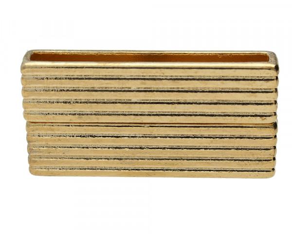 Magnetverschluss, 35x3mm, 38x19x7mm, rosé goldfarben, Metall