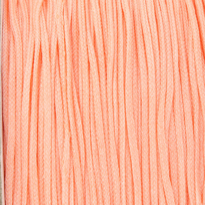 Schmuckband, Makrameeband / Shamballa (Nylon) (Rolle), 0,8mm, rund, ca. 60 Meter, FLAMINGOROSA