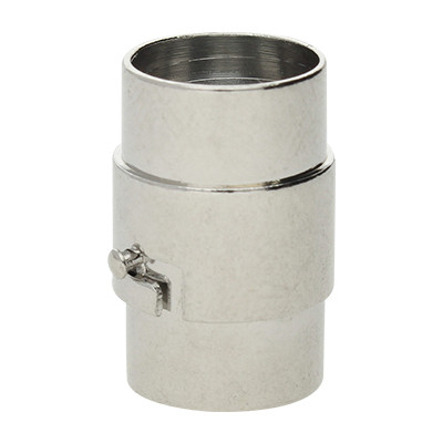 Magnetverschluss, 10mm, 19x12mm, Metall, platinfarben