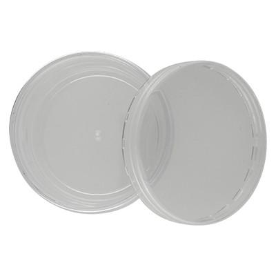 Perlendöschen aus klarem Plexiglas, 70x37mm