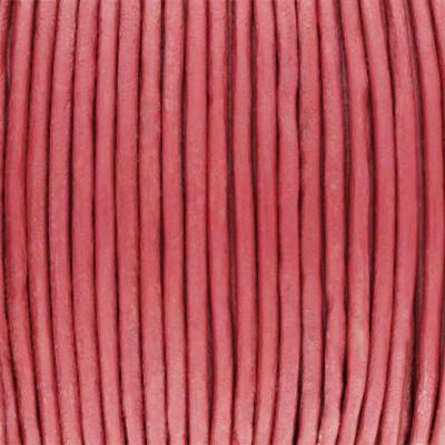 Rundriemen, Lederschnur, 100cm, 2mm, ALTROSA
