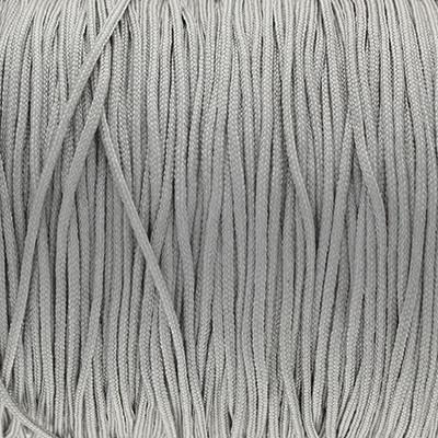 Schmuckband (100cm), 1,5mm, rund, GRAU