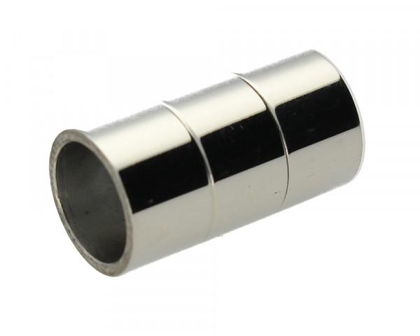 Magnetverschluss, innen 8mm, 18x10mm, Edelstahl