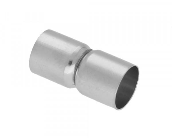 Magnetverschluss, 8mm, 18x9mm, Metall, silberfarben