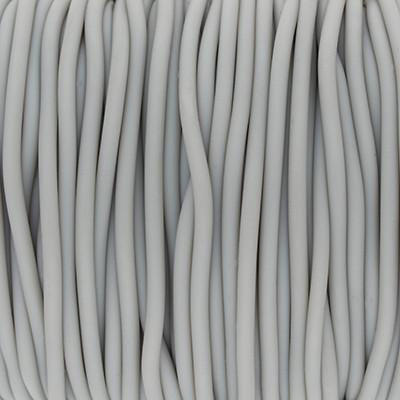 PVC Band (100cm), 2,0 mm breit, hellgrau