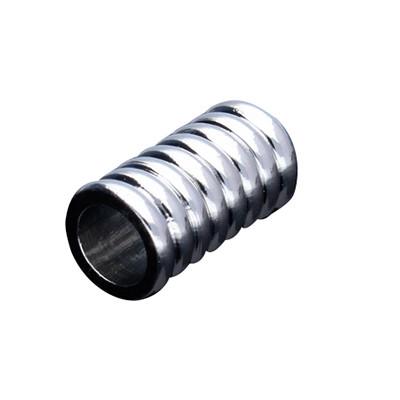 Magnetverschluss, innen 6mm, 15,5x8mm, platinfarben, Metall