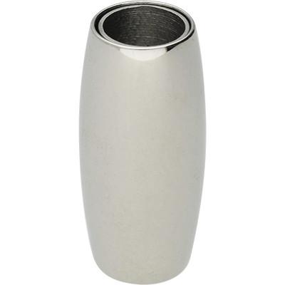 Magnetverschluss, 6mm, 21x10mm, Edelstahl, silberfarben