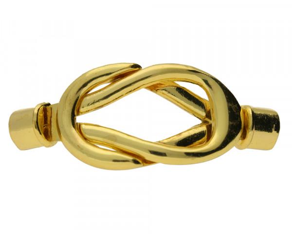 Magnetverschluss, 5mm, 40x20mm, Metall, goldfarben