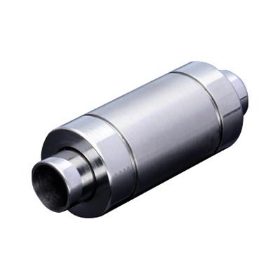 Magnetverschluss, 4mm, 24x9mm, Edelstahl, matt, silberfarben