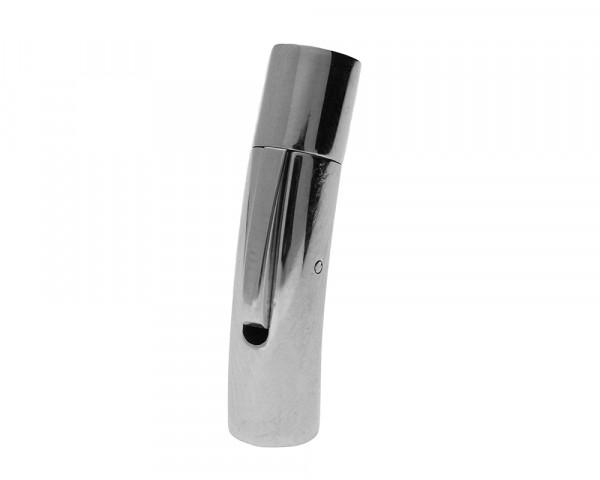 Bajonettverschluss, 5mm, 30x7,5mm, Edelstahl, silberfarben