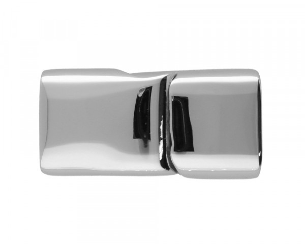 Magnetverschluss, 5,5x12mm, Edelstahl, silberfarben