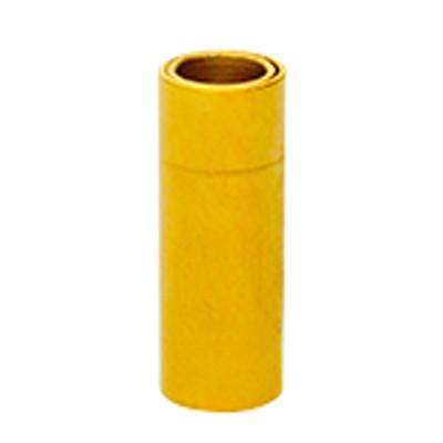 Magnetverschluss, 4mm, 16x6x6mm, Edelstahl, goldfarben