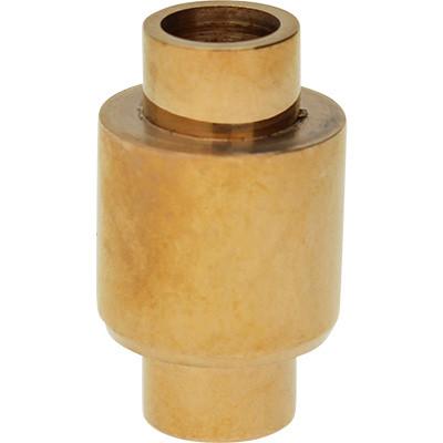 Magnetverschluss, 5mm, 18,5x11mm, Edelstahl, rosé gold