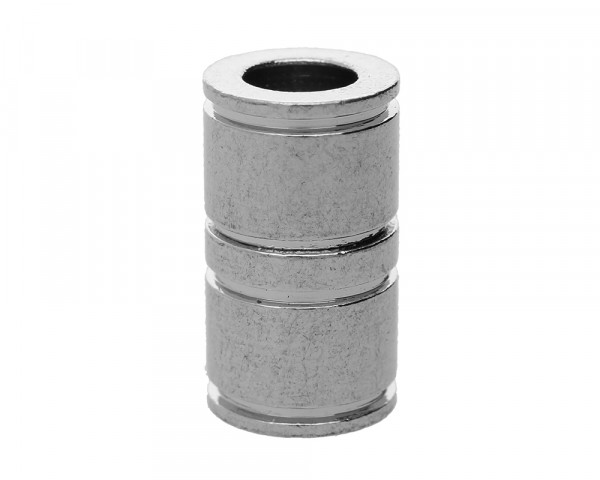 Magnetverschluss, innen 5,5mm, 18x10mm, platinfarben, Metall
