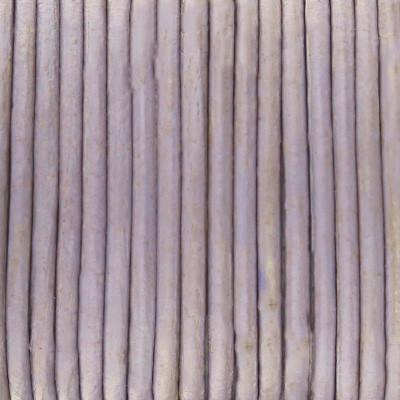 Rundriemen, Lederschnur, 100cm, 1mm, TAUPE