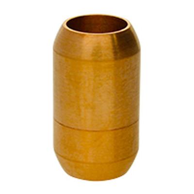 Magnetverschluss, 8mm, 21x12mm, Edelstahl, matt, rosé gold