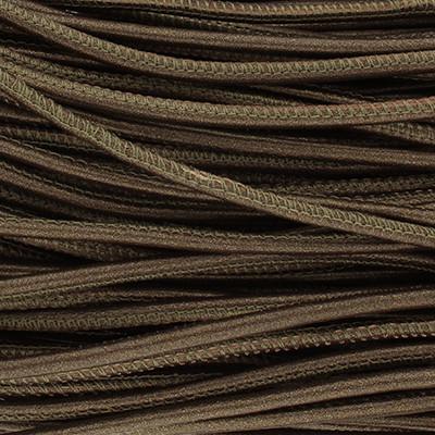 Nappaleder rund gesäumt, 100cm, 2,5mm, METALLIC BRONZE MATT