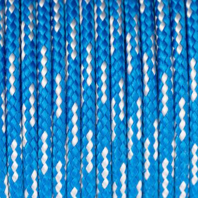 Segeltau, Reepschnur, 100cm, 4mm, STARKWINDBLAU-WEISS100% Polypropylen (PP)