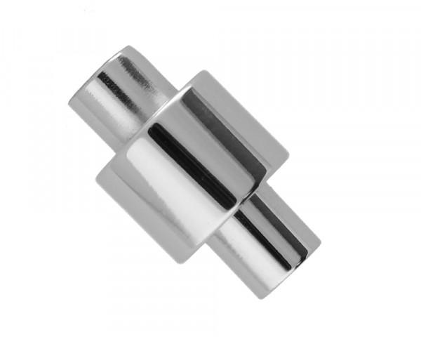 Magnetverschluss, 5m, 18,5x11mm, Edelstahl, silberfarben