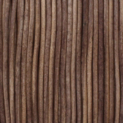 Rundriemen, Lederschnur, 100cm, 1mm, VINTAGE TAUPE