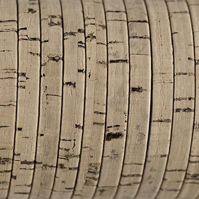 Flachriemen aus Kork, 100cm, ca. 5x2mm, NATUR mit goldenen Einschüssen