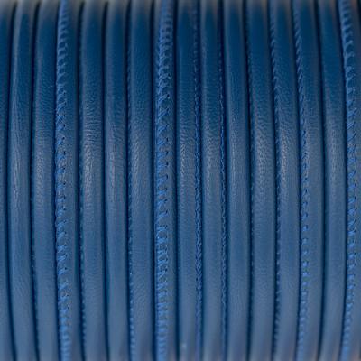 Nappaleder rund gesäumt, 100cm, 4mm, CURACAO