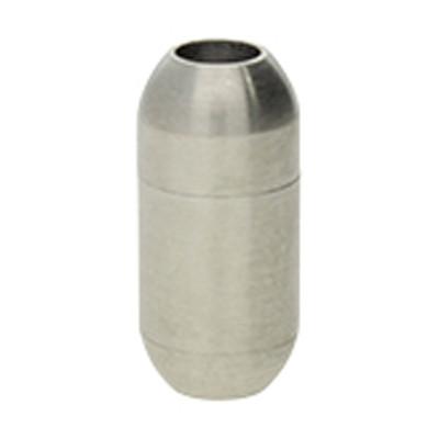 Magnetverschluss, 4mm, 17x8mm, Edelstahl