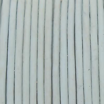 Rundriemen, Lederschnur, 100cm, 1mm, BRILLANTBLAU