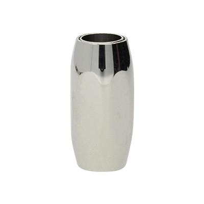 Magnetverschluss, 6mm, 21x11x10mm, Edelstahl, silberfarben