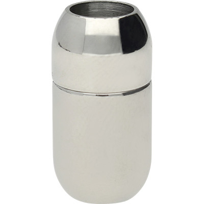 Magnetverschluss, 6mm, 19x10mm, Edelstahl, glänzend
