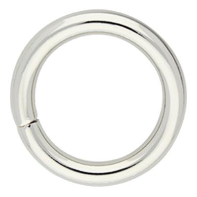 Rundring (O-Ring) 36x5mm, Innendurchmesser: 25,0mm, Ausführung: Stahl, vernickelt und geschweißt, Fa