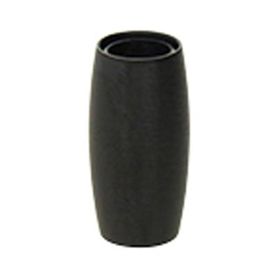 Magnetverschluss, 4mm, 13x7mm, Edelstahl, schwarz matt