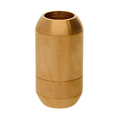 Magnetverschluss, 6mm, 19x10mm, Edelstahl, matt, rosé gold
