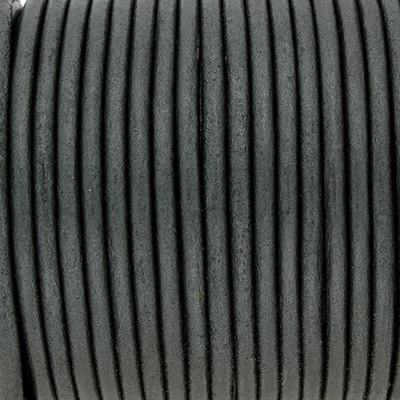 Rundriemen, Lederschnur, 100cm, 3mm, METALLIC URBAN CHIC