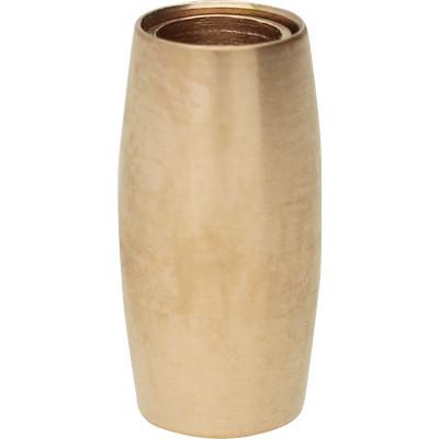 Magnetverschluss, 4mm, 13x7mm, Edelstahl, roségold matt