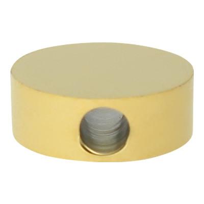 """Perle """"Kreis"""", innen 1,8mm, 8mm, goldfarben, Edelstahl"""