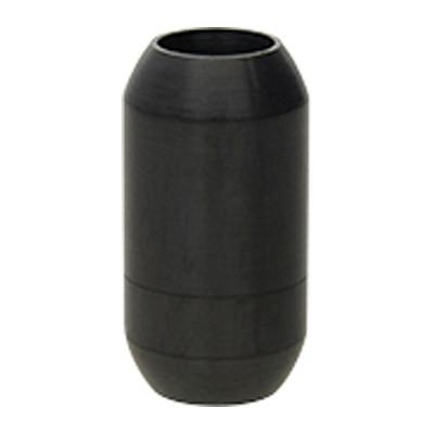 Magnetverschluss, 6mm, 19x10mm, Edelstahl, matt, schwarz