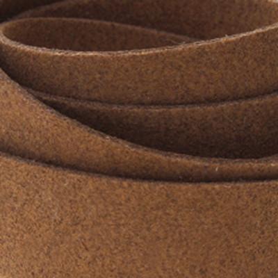 Textilband in Wildlederoptik (100cm), 20,x1,5mm breit - BRAUN