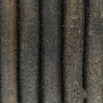 Rundriemen, Lederschnur, 100cm, 6mm, VINTAGE DUNKELGAU