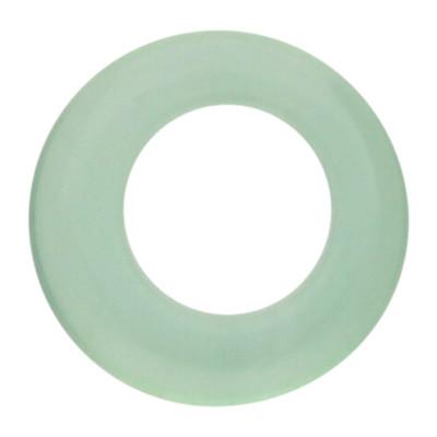 Zierring, innen 4mm, außen Ø 8mm, grün, Achat