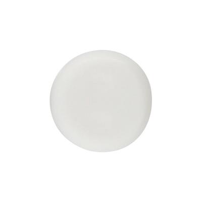 Acrylbuchstabe uni (10 Stück), innen 1mm, 7x4mm, weiß
