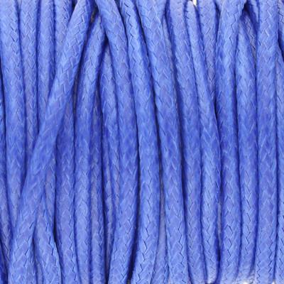 Gewachstes Schmuckband aus Baumwolle, 100cm, 2mm breit, CURACAO