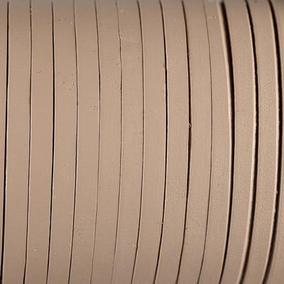 Flachriemen Rindsleder, 100cm, 5x2,0mm,NATUR