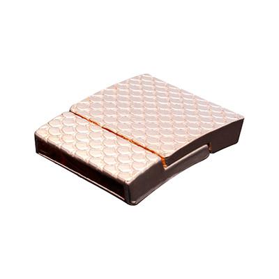 Magnetverschluss, 19x3mm, 26x21x6mm, Metall, roségoldfarben