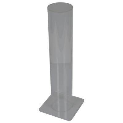 Armreifständer, Plexiglas, Transparent, 255mm, 84mm, 50mm
